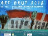 Pozvání na vernisáž výstavy ART BRUT 2018